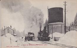 BOUJAILLES       LA GARE  FEVRIER 1907 - Other Municipalities
