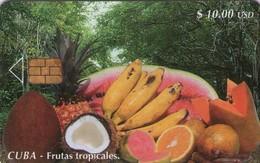 TARJETA TELEFONICA DE CUBA (FRUTAS TROPICALES) (391) - Cuba