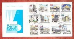 Sonderpostkarte, Satz Neue Berlin, SoSt Dental-Schau Koeln 1968 (42799) - Berlin (West)