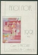 Rare // Etiquette // Pinot Noir 1991, Cave Le Parcouret, L.Coppey & Fils Conthey, Valais, Suisse - Etiquettes