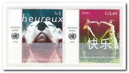 UNO Geneve 2014, Postfris MNH, Day Of Happiness - Genève - Kantoor Van De Verenigde Naties