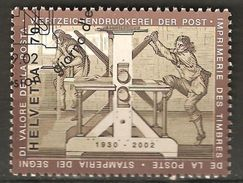 Zu 1067 / Mi 1807 / YT 1726 Imprimerie Des Timbres-poste Obl. 1er Jour - Switzerland