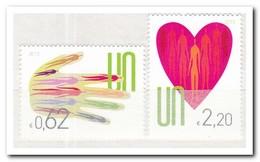 UNO Wenen 2013, Postfris MNH, Hand, Heart - Wenen - Kantoor Van De Verenigde Naties