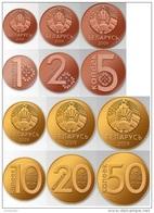 BELARUS Set (6v) Of New Coins 1 2 5 10 20 50 Kopecks 2009 ( 2016 )  UNC - Belarus