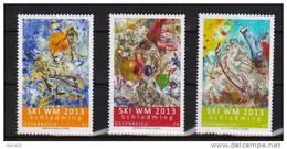 """Österreich 2013:  """"Ski WM"""" Kpl.Satz  Postfrisch (siehe Foto/Scan) - 1945-.... 2nd Republic"""