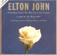 """CD   Elton John   """"  Mémoire à La Princesse Diana  """"   De  1977  Avec  2  Titres - Music & Instruments"""
