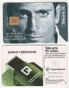 TELECARTE 50 UNITES PARFUM EAU DE TOILETTE PACO RABANNE POUR HOMME - 10 94 - 1 000 000 EX - Parfum
