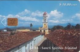 TARJETA TELEFONICA DE CUBA (SANCTI SPIRITUS TRINIDAD) (438) - Cuba