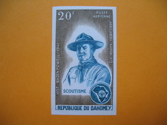 Timbre Non Dentelé   N° PA 186  Congrès Internationaux Du Scoutisme à Addis-Abeba Et à Nairobi  1973 - Bénin – Dahomey (1960-...)