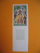 Timbre Non Dentelé   N° 183  Danses Locales 1965 - Gabon (1960-...)