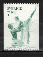 SVEZIA - 1975 - ROMEO E GIULIETTA - BALLETTO - USATO - Oblitérés