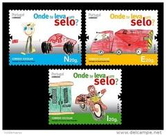 Portugal 2013 Mih. 3891/93 Children's Drawings MNH ** - 1910-... République