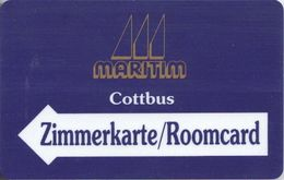 GERMANIA KEY HOTEL Maritim Cottbus - Hotel Keycards