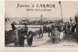 J Arrive à LARMOR  BON SOUVENIR - Larmor-Plage