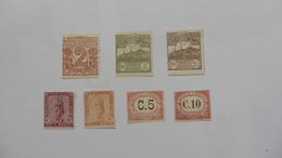Saint-Marin : 7 Timbres Oblitérés Et NSG - Collections, Lots & Séries