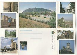 San Marino STATIONERY LETTERSHEET Illus ARCHER Archery Postal Stationery Cover Stamps - Postal Stationery