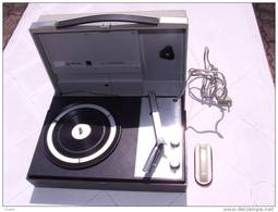 P008 Giradischi Fonografo Phonograph Phonographe Vintage 1970 Philips All Transistor Da Collezione Perfetto LP - Altri Oggetti