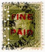 (I.B) New Zealand Revenue : Fine Paid 9d - New Zealand