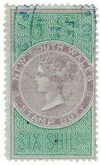(I.B) Australia - NSW Revenue : Stamp Duty 6/- - Australia
