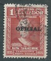 Equateur - Service - Yvert N°  155 Oblitéré - Bce10601 - Ecuador