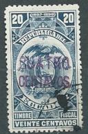 Equateur -- Timbre Fiscal Mill 1897 / 1898 Surcharge Violette Quatro Centavos - Bce10604 - Ecuador