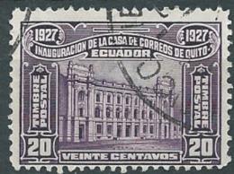 Equateur -   -  Yvert N ° 255  Oblitéré - Bce10612 - Ecuador