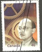 Sc. # 1832a Millennuum #15 Fathers Of Invention, Geo. Klein, Inventor Used 2000 K841 - 1952-.... Règne D'Elizabeth II