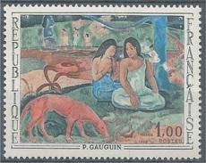 "France, ""Arearea"", Painting By Paul Gauguin, 1968, MNH VF - Frankrijk"