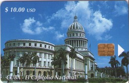 TARJETA TELEFONICA DE CUBA (EL CAPITOLIO NACIONAL) (477) - Cuba
