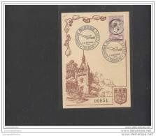 Carte Exposition Philatelique Toulouse 1955 - Lettres & Documents