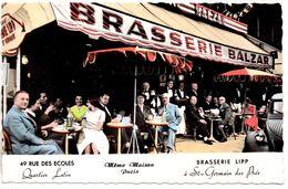 Paris : Brasserie Balzar, 49 Rue Des Ecoles - Cafés, Hôtels, Restaurants