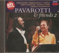 CD    Pavarotti & Friends 2    De  1995   Avec  15  Titres - Other - Italian Music