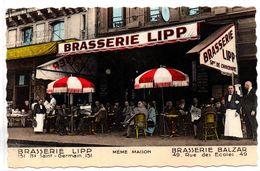 Paris : Brasserie Lipp : Bd Saint Germain - Cafés, Hôtels, Restaurants