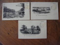 Lot De 3 Cartes De DJIBOUTI ( Vallée Du Laga Haré / Terrasses Quartier Arabe / Mosquée De Tadjourah ) - Djibouti