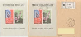 Lancement Du 1er Satellite Français R.Lomé 18.2.1972 + Bloc Neuf ** Les Deux - Togo (1960-...)