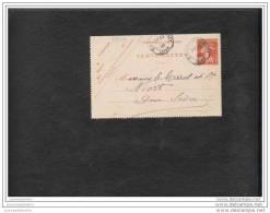 Entier Postal 10c Semeuse Camée Reference Storch E8 - Letter Cards