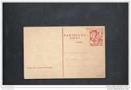 Entier Postal Type Infirmiere Imprimé En Rouge 2 Eme Tirage - Indonesia