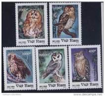 Vietnam Viet Nam MNH Perf Stamps 1995 : Owls / Owl / Bird (Ms702) - Vietnam