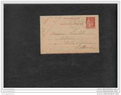 Entier Postal 50c Paix Reference Storch B1 - Postal Stamped Stationery