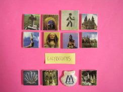 Série Complète De 12 Fèves En Porcelaine - SAINT JACQUES DE COMPOSTELLE ( Feve ) - Regions
