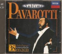 """CD    Pavarotti   """"  Subime  """"  Chefs D'oeuvre  Essentiels  En  2 CD    De  1994   Avec  35  Titres - Other - Italian Music"""