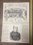 ENV 1868 LE COMTE CASATI - Old Paper