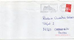 "Flamme --2000--BRACIEUX -41-""sa Vieille Halle ""--type Marianne Luquet......à Saisir - Postmark Collection (Covers)"
