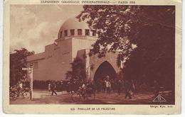 CPA EXPOSITION COLONIALE INTERNATIONALE PARIS 1931 - Pavillon De La Palestine - Exhibitions