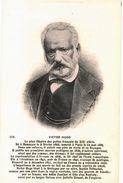 CPA N°12293 - VICTOR HUGO - LE PLUS ILLUSTRE DES POETES FRANCAIS DU XIXe. NE A BESANCON EN 1802 MORT A PARIS EN 1885 - Schriftsteller