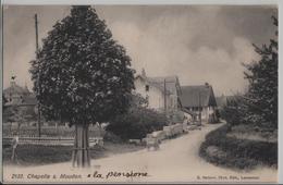 Chapelle S. Moudon - Animee - Photo: E. Steiner - VD Vaud