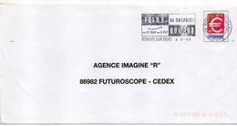 """Flamme Temporaire--1999--ROMANS-26-""""Foire Du Dauphiné-du 25 Sept Au 3 Oct """"--type Tp € -- .....à Saisir - Postmark Collection (Covers)"""