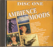 "CD    Ambiance  Moods  ""  Disc One  ""     Avec  26  Titres - Música & Instrumentos"