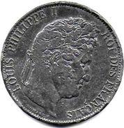 FAUX D'époque Pour Servir - 5 Francs Louis Philippe I   1844 W - France