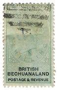 (I.B) British Bechuanaland Revenue : Duty 1/- (postal) - Bechuanaland (...-1966)